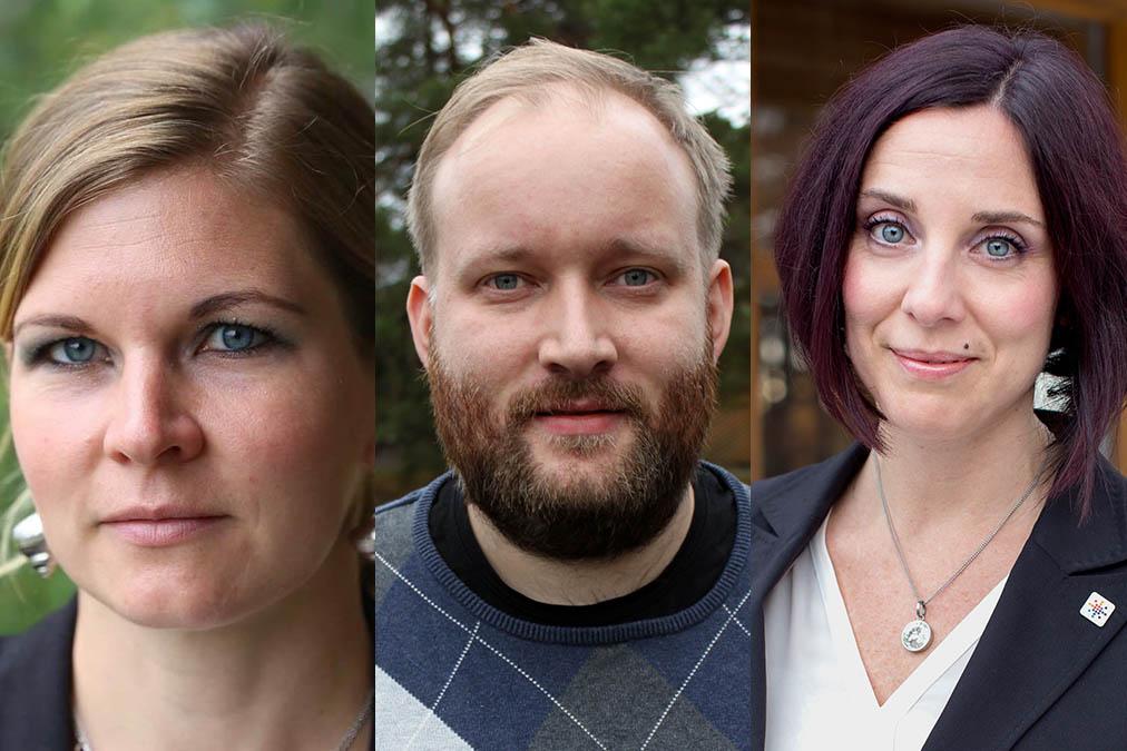 Lisa Lorentzon Tobias Åresten och Ulrika Lindstrand Sveriges Ingenjörer